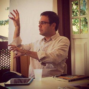 José Luiz Passos . Photo courtesy of Kate Griffin
